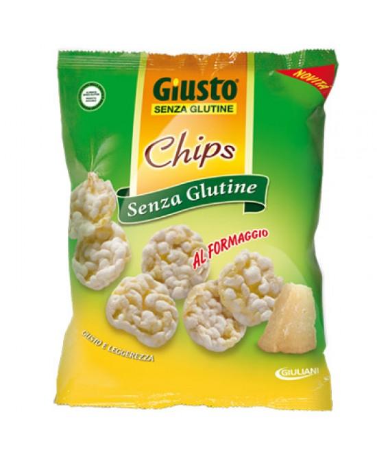 Giusto Chips Al Formaggio Senza Glutine 30g - FARMAPRIME