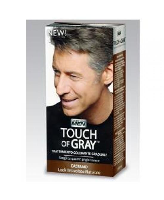 Touch of Gray Trattamento Colorante Graduale Per Uomo Castano 40 ml