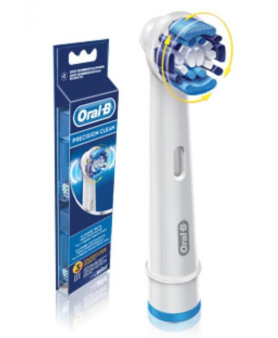 Oral-B  Precision Clean Testine Di Ricambio Per Spazzolino Elettrico 3 Ricambi - La tua farmacia online