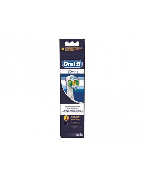 Oral-B 3D White Testine Di Ricambio  3 Pezzi - Farmacia 33
