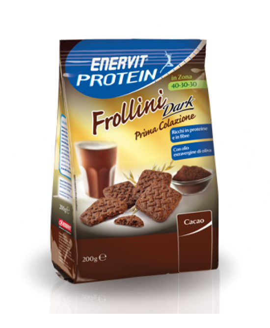 Enervit Protein Frollini Dark 200g - Farmabravo.it