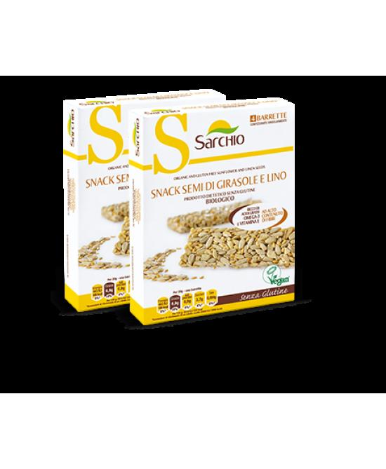Sarchio Snack Semi Di Girasole E Lino 80g - FARMAEMPORIO