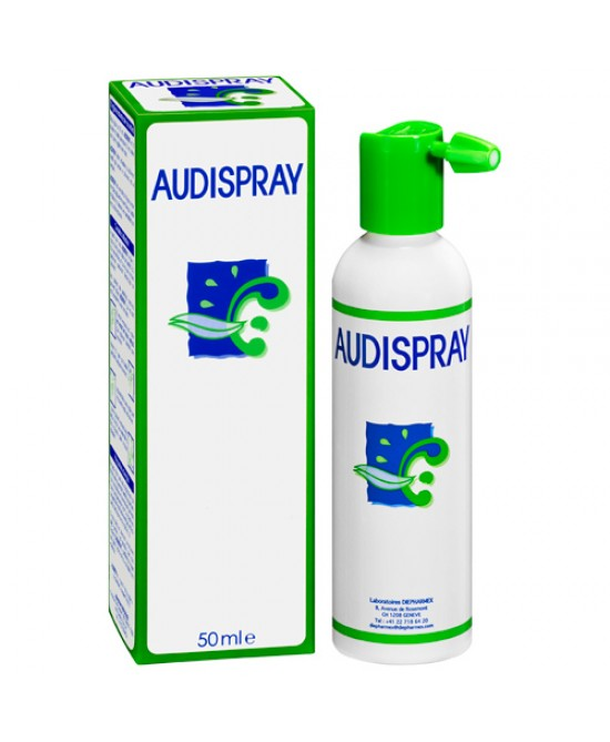 Audispray Adulti Soluzione Salina Igiene Orecchie 50ml - Farmabellezza.it