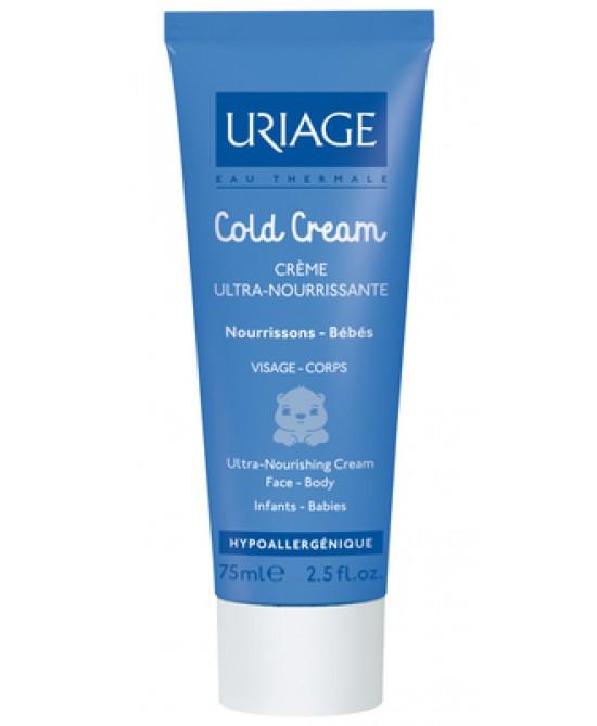 Uriage Bébé Cold Cream Crema Ultra-Nutriente Viso e Corpo 75 ml