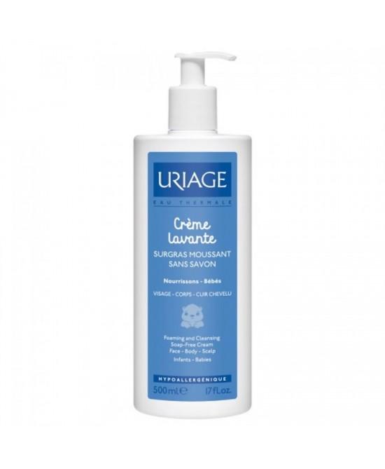 Uriage Crème Lavante Baby Trattamento Delicato Senza Sapone 500ml - Farmacistaclick