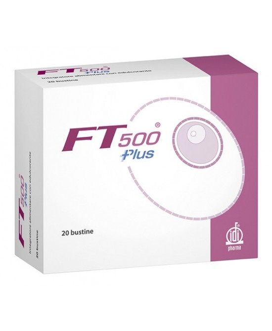 IdiPharma FT 500 Plus 20 Bustine - Farmapage.it