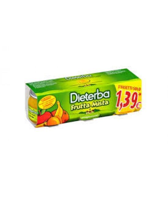 Dieterba Omog Frutta Mis 3x80g - Antica Farmacia Del Lago