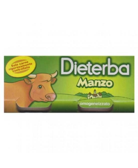Dieterba Omogeneizzato Manzo 3x80g - Farmapc.it