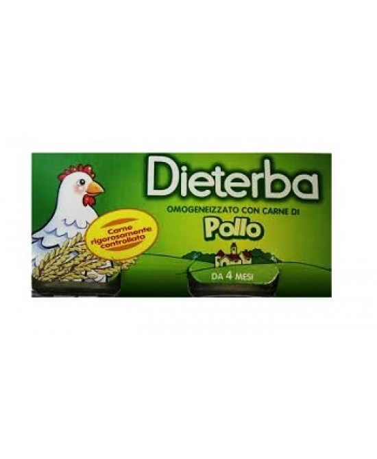 Dieterba Omog Pollo 3pz 80g - Farmapc.it