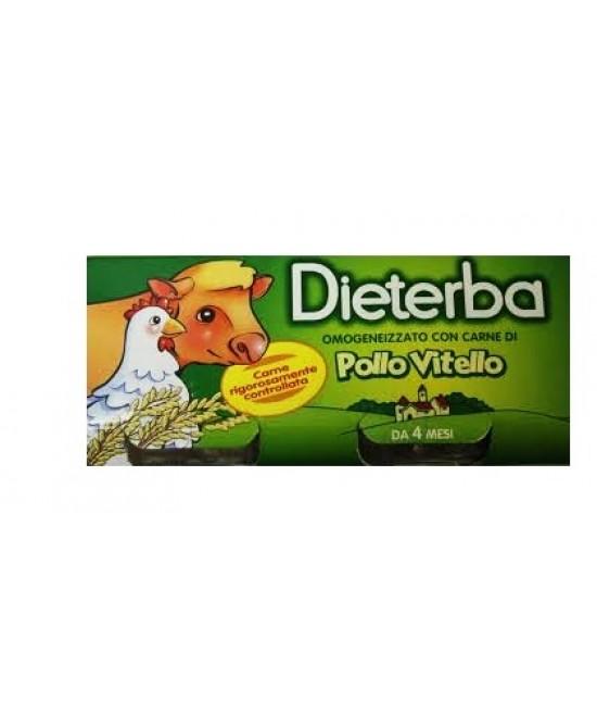 Dieterba Omog Vitel/pollo3x80g - Farmastar.it