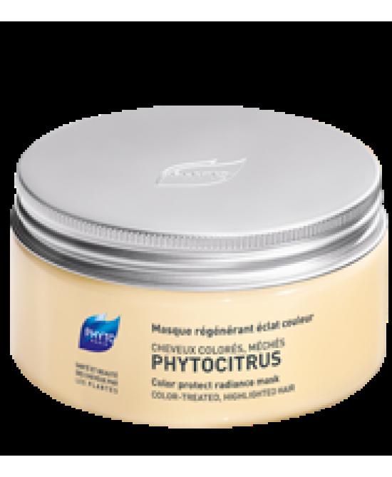 Phyto Phytocitrus Maschera Ristrutturante Luminosità E Colore Capelli Colorati, Con Mèches 200ml - Farmia.it
