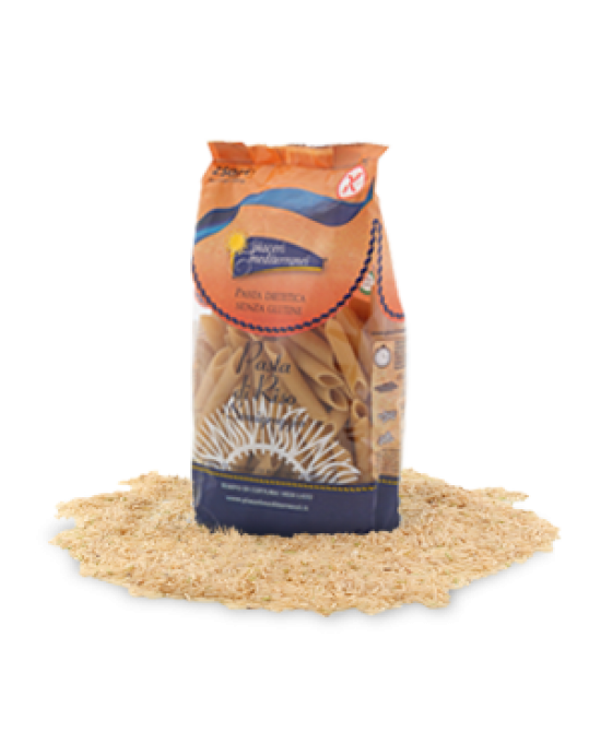 Piaceri Mediterranei Pasta Di Riso Penne Rigate Grandi Senza Glutine 250 g
