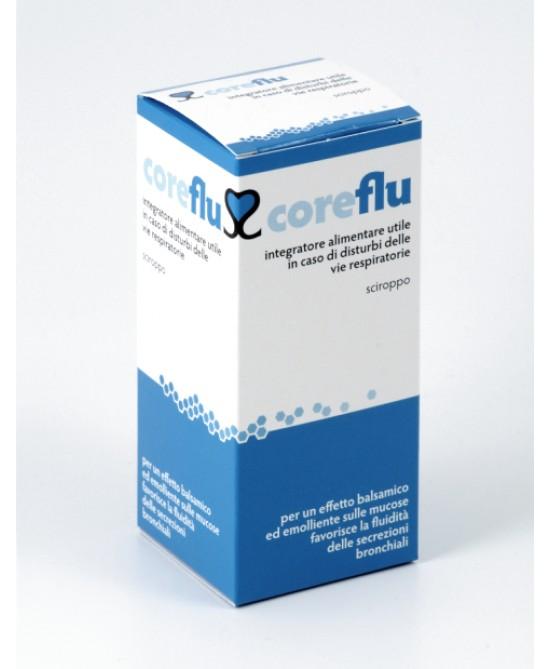 Coreflu Integratore In Sciroppo Emolliente Mucose 200 ml