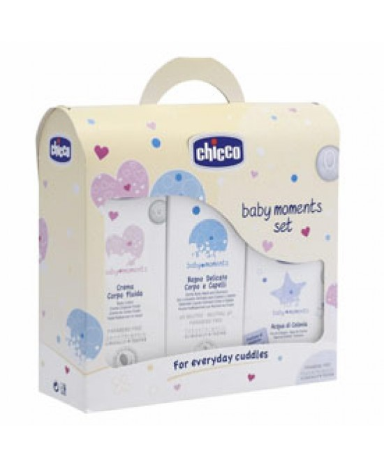 Chicco Cofanetto Trial Baby Moments 1 - farma-store.it