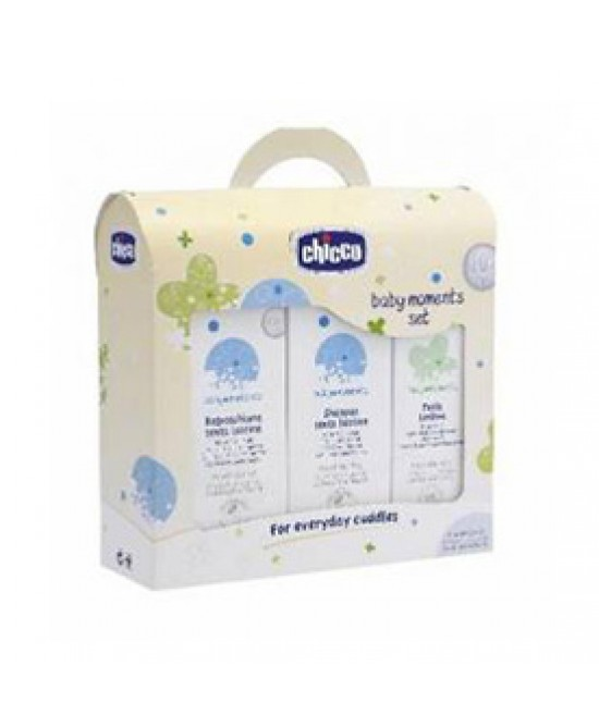 CHICCO SET BAGNO CREMA + COLONIA - Farmapage.it