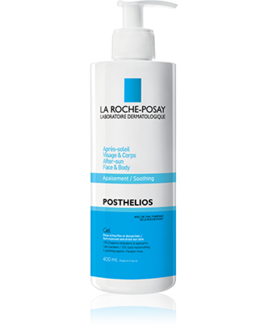 La Roche-Posay Posthelios Gel Emoliente Lenitivo Doposole 400ml - Farmafamily.it