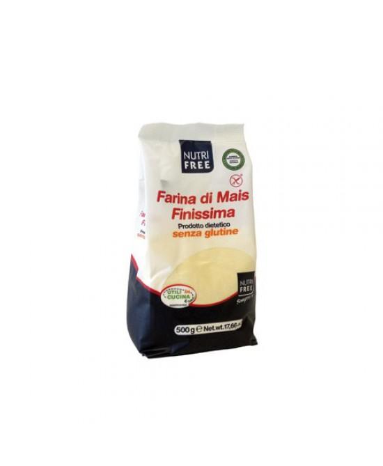 Nutrifree Farina Di Mais Finissima Senza Glutine 500g - Farmawing