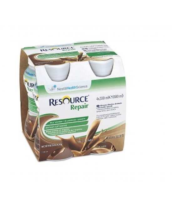 Resource Repair Caffè Bevanda Iperproteica 4x200 ml