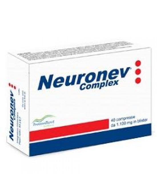 Neuronev Complex 40cpr - Parafarmacia la Fattoria della Salute S.n.c. di Delfini Dott.ssa Giulia e Marra Dott.ssa Michela