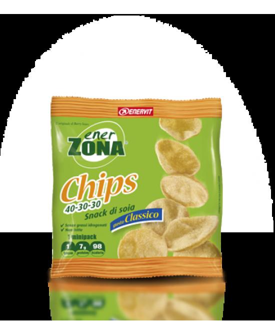 EnerZona Chips 40-30-30 Gusto Classico 1 Busta 23 g - Farmalilla