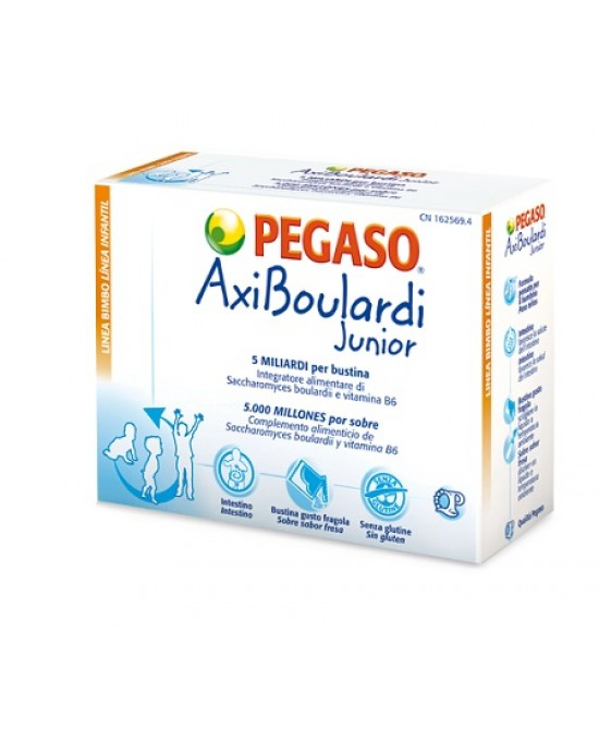 Pegaso AxiBoulardi Junior Integratore Flora Intestinale 14 Bustine