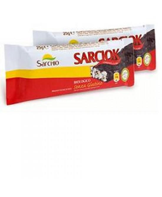Sarchio Snack Soffio di Riso Con Cioccolato Fondente 25 g