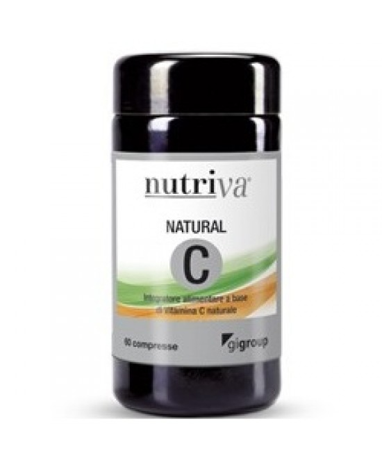 Nutriva Natural C Integratore 60 Compresse Masticabile