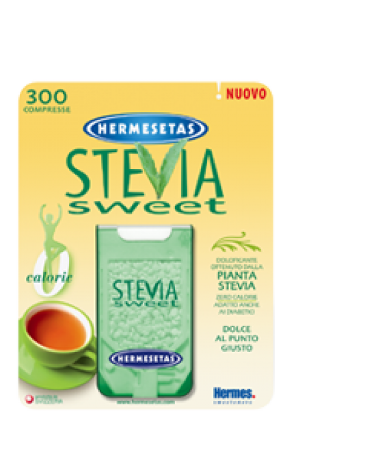 Hermesetas Steviasweet 300 Compresse - Farmafamily.it