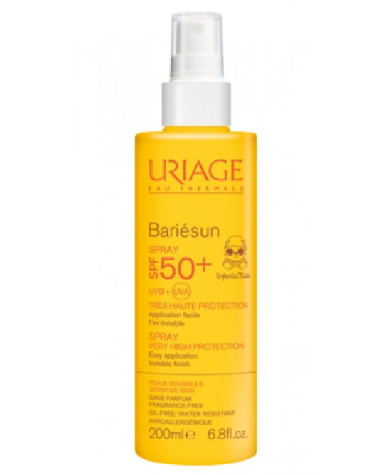 Uriage Bariésun Spf50+ Spray Per Bambini 200ml - Parafarmacia la Fattoria della Salute S.n.c. di Delfini Dott.ssa Giulia e Marra Dott.ssa Michela