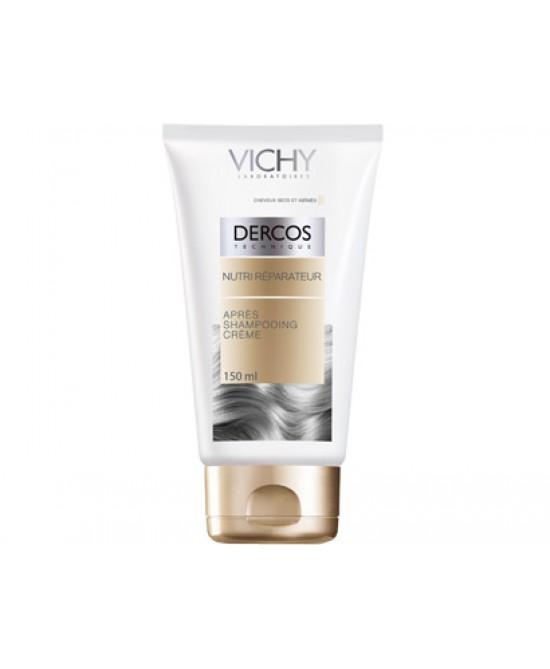 Vichy Dercos Balsamo Crema Dopo-Shampoo Nutri-Riparatore 150ml - Carafarmacia.it