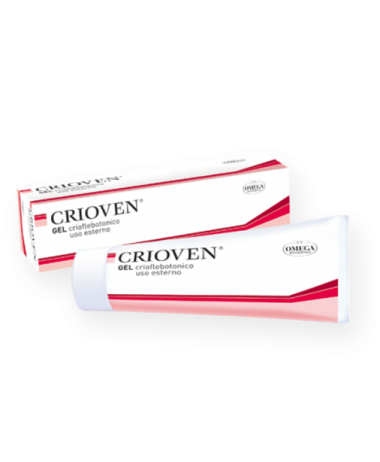 Omega Pharma Crioven Gel 120ml - Farmapage.it