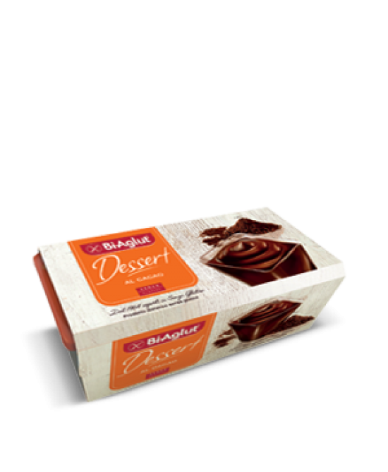 Biaglut Dessert Senza Glutine Al Cacao 120g 2 Pezzi - farma-store.it