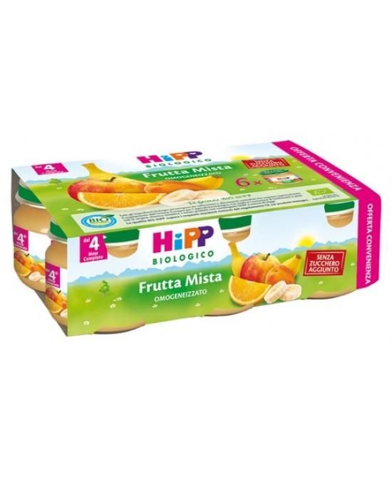 HiPP Biologico Omogeneizzato Frutta Mista 6x80g