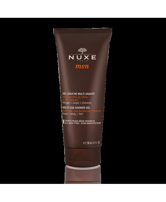 Nuxe Men Gel Douche Multi-Usages Detergente Doccia Uomo Multi-Uso 200ml -