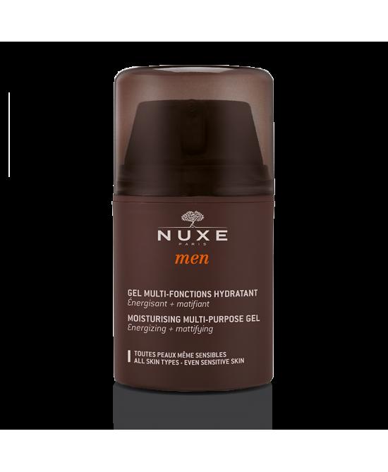 Nuxe Men Gel Multi-Fonctions Hydratant Trattamento Viso Idratante Uomo 50ml -