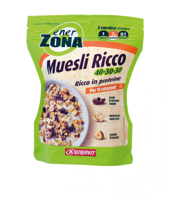 Enervit EnerZona Muesli Ricco 40-30-30 230g - Farmafamily.it