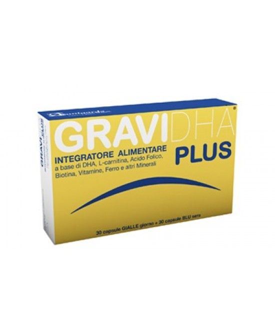 Gravidha Plus Integratore Gravidanza 30+30 Capsule offerta