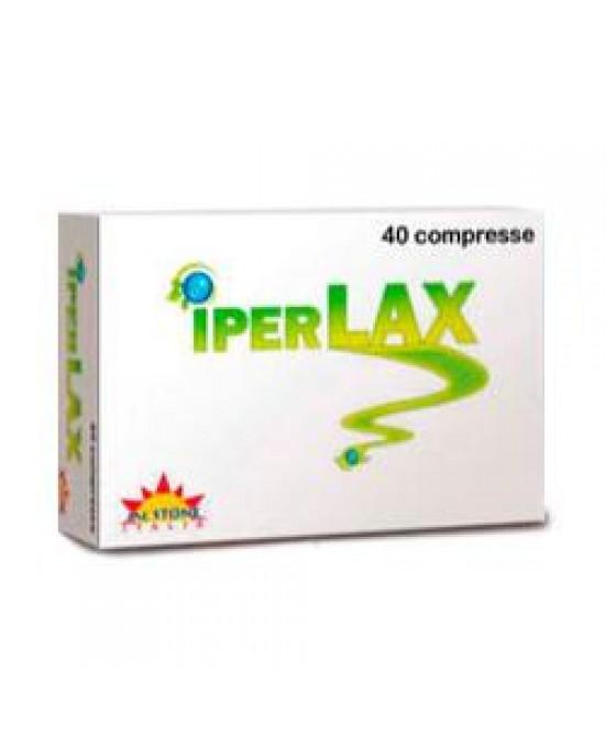 Iperlax Integratore Transito Intestinale 40 Compresse