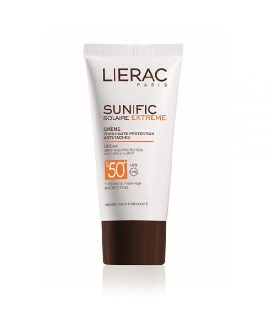 Lierac Sunific Crema Protettiva Anti-Macchie Spf50+ 50ml