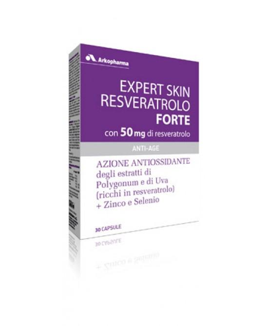 Expert Skin Resveratrolo Forte Integratore Antiossidante 30 Capsule