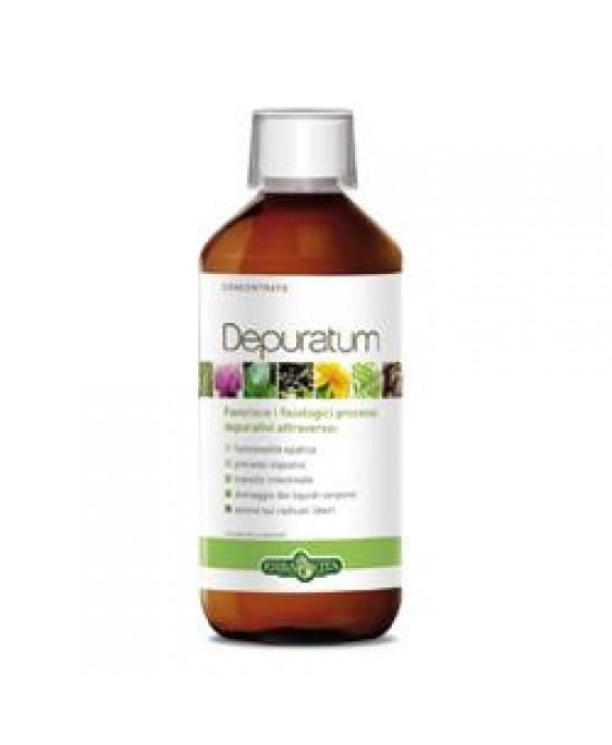 ErbaVita Linea Depuratum Depuratum Concentrato Integratore Alimentare 500ml - La tua farmacia online