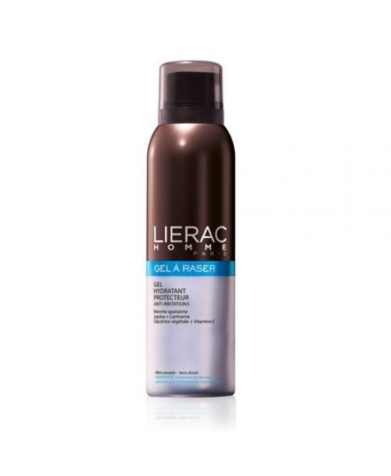 Lierac Homme Gel A Raser Idratante Anti-Irritazioni 150ml - Farmawing