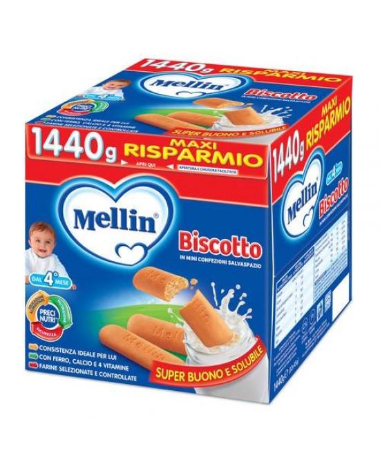 Mellin Biscotti Biscotto Classico 1,44kg - Farmaci.me