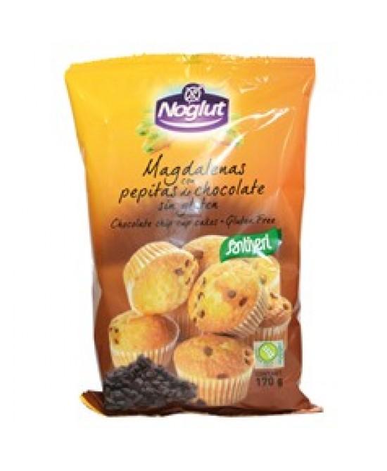 Noglut Maddalene Con Gocce Di Cioccolato Senza Glutine 170g - Iltuobenessereonline.it