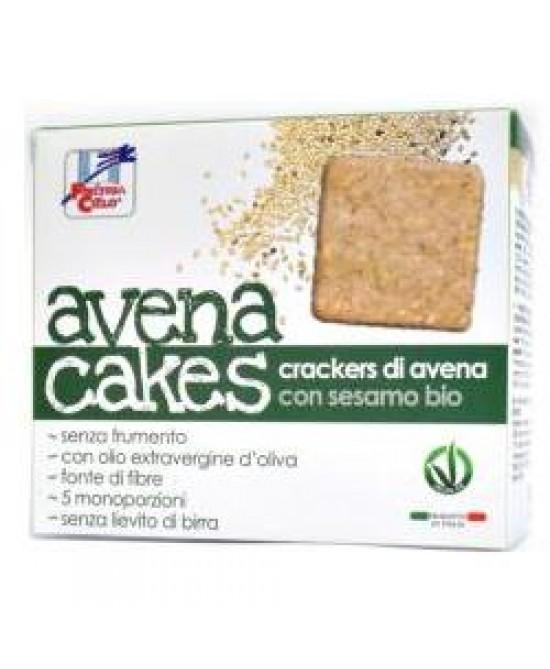 La Finestra sul Cielo Crackers di Avena e Sesamo Bio 250 g