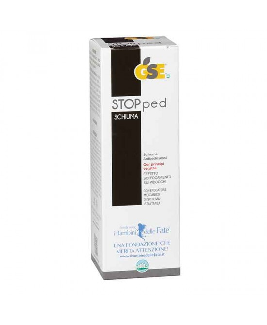 Gse Stopped Schiuma Antipediculosi 100 ml
