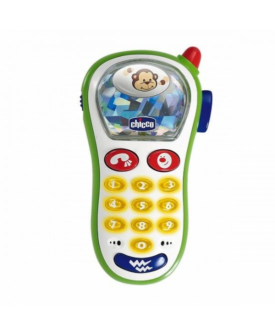 Chicco Gioco Telefono Vibra E Scatta - Farmafamily.it