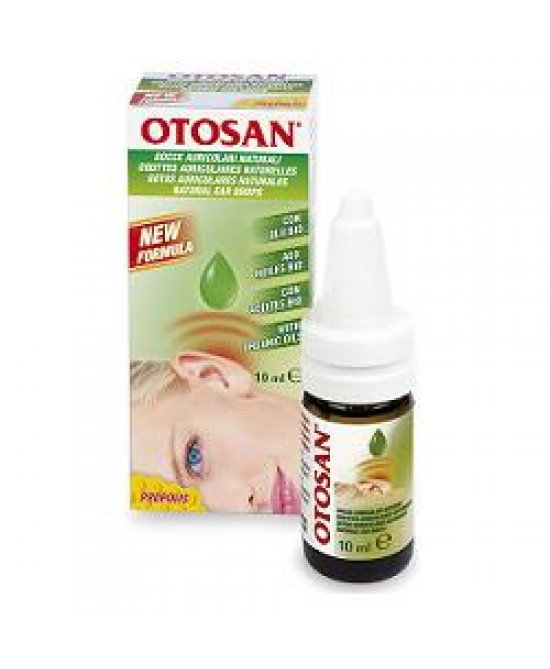 Otosan Gocce Auricolari Bio 10ml - Farmabellezza.it