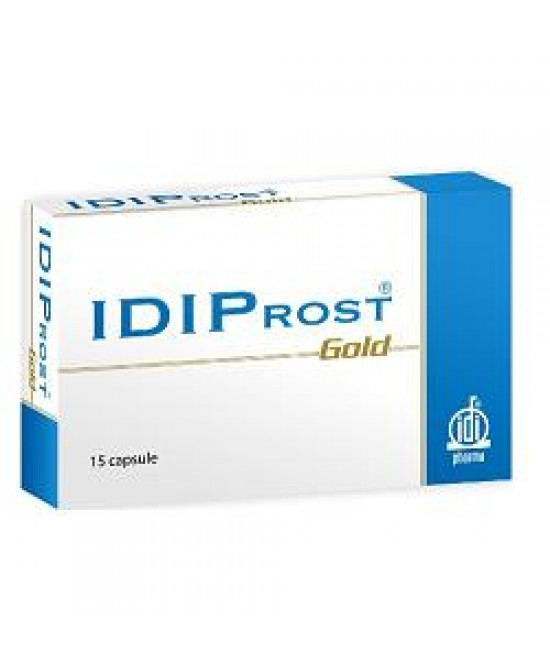 Idiprost Gold Integratore 15 Capsule
