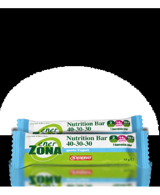 EnerZona Nutrition Bar 40-30-30 Gusto Yogurt 1 Pezzo 48g - Sempredisponibile.it
